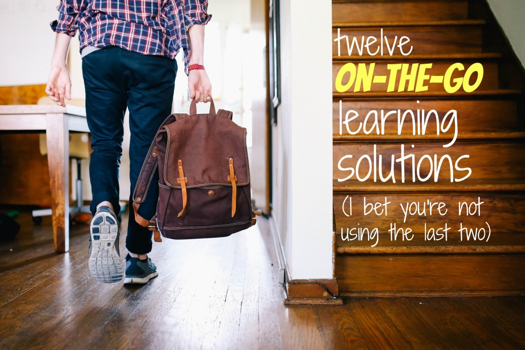 12 On-the-go Learning Solutions