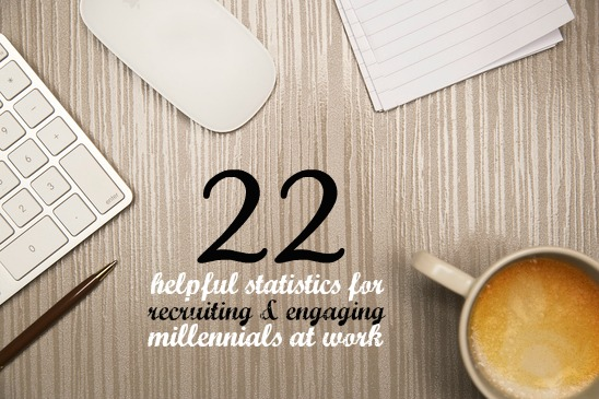 22 Helpful Statistics for Recruiting and Engaging Millennials at Work